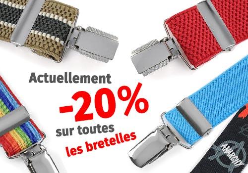 Promotion bretelles