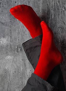 Chaussettes coton jersey, chaussettes fil d'Ecosse, chaussette laine et socquettes
